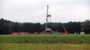 """Workoverarbeiten auf der Erdgasbohrung """"SW 85"""" im August 2013. ©chef79"""