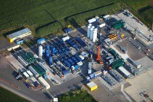 """Erdgasbohrung wird einer Fracmaßnahme unterzogen (""""Goldenstedt Z23"""") Quelle: WEG Wirtschaftsverband Erdöl- und Erdgasgewinnung e.V."""